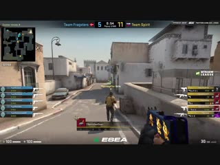 Победа vs. Fragsters (ESEA, game 1)