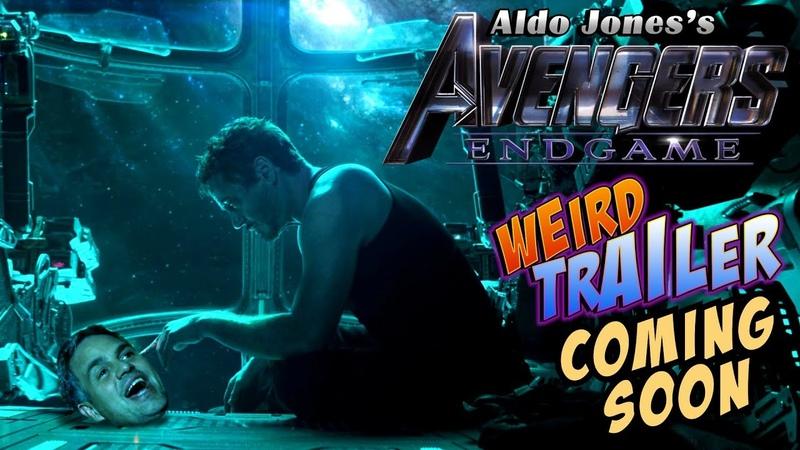 AVENGERS ENDGAME Weird Trailer PREVIEW | What's Happened to Captain America's Beard? by Aldo Jones