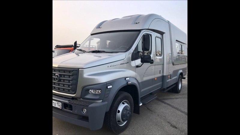 Универсальный ГАЗон NEXT на базе грузовика создан необычный фургон