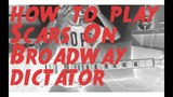 33. how to play Daron Malakian and Scars On Broadway - Dictator (with tabs)
