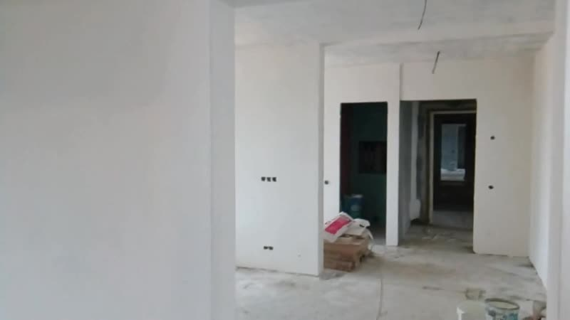 Шпатлёвка квартиры из бетона в Минске