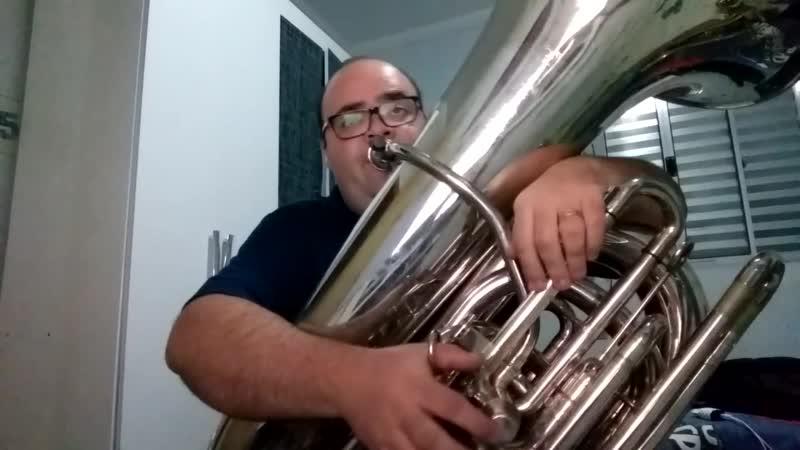 Hino 194 CCB - Vos chorareis e vos Lamentareis (Tuba solo c/ Playback)