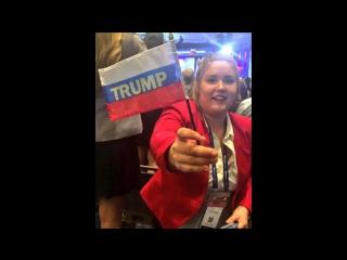 Трамп, провокация, Вашингтон, кругом флаги России, кто подставил, демократия по американски