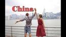 Китай Залезли на крышу высотного дома в Гуанчжоу Не смогли улететь из за тайфуна