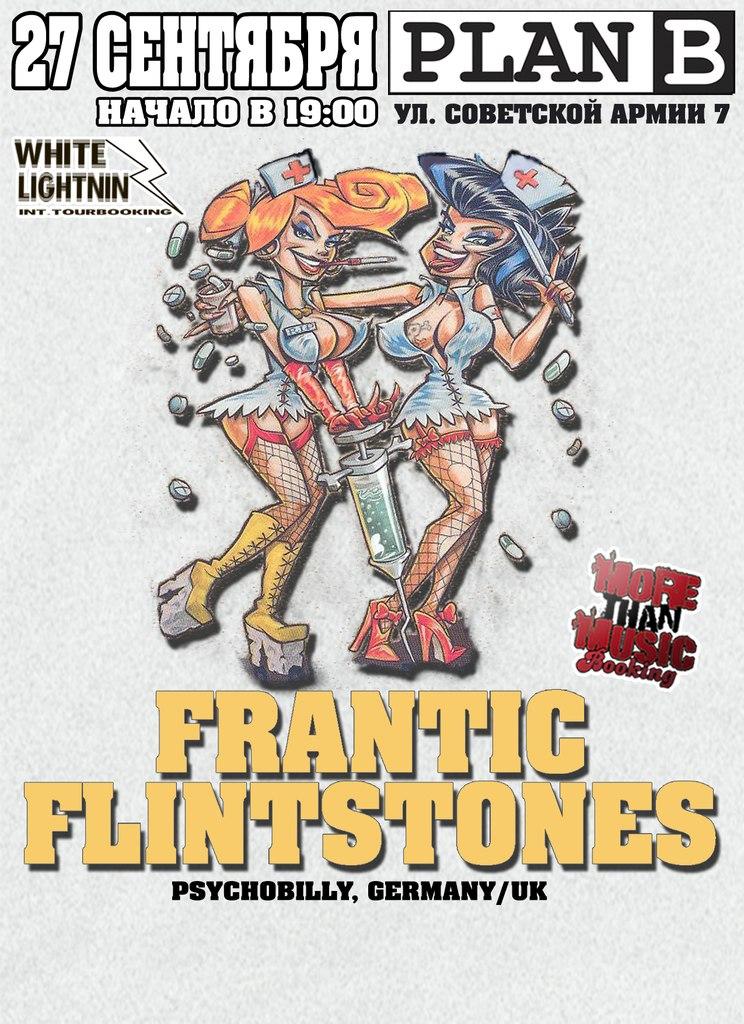 27.09 - FRANTIC FLINTSTONES (GERMANY) - PLAN B