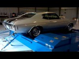 1970 Chevelle SS 454 Quarter 14 Mile Run On A Mustang Dyno Drag Race