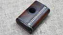 Кожаный чехол на Billet box rev4. Handmade Billet box leather case.