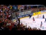 Финал ЧМ-2014 по хоккею. Россия - Финляндия. Голы и лучшие моменты.