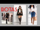 OUTFITS CON BOTAS 2018   OUTFITS WITH BOOTS   Outfits casuales con botas MODA OTOÑO INVIERNO
