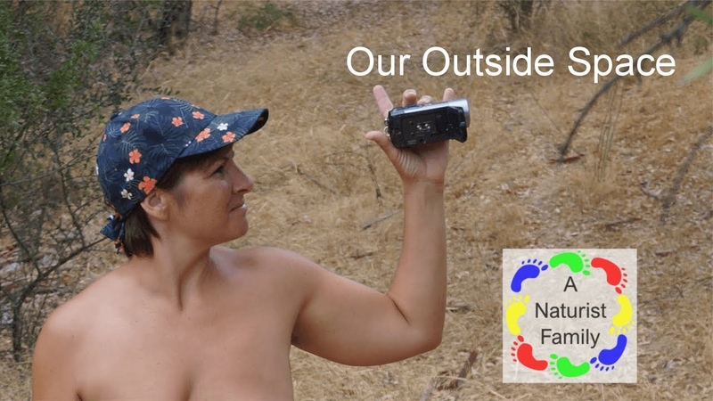 A Naturist Family 8 - Our Outside Space