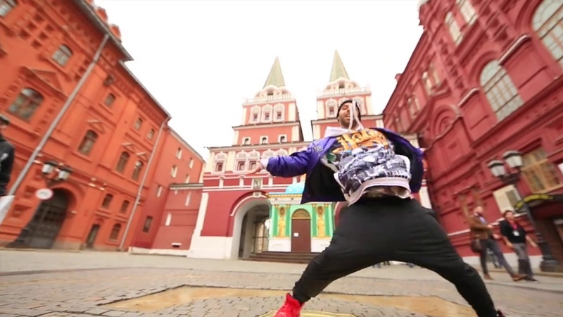 Ricardo Do Rego | Dance Night Steet | Moscow Kremlin | 2018