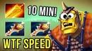How to farm 10 min Radiance WTF SPEED 1100 GPM Alchemist by Inyourdream Gameplay Dota 2