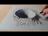 Drawing a 3D Crater, Hole Illusion