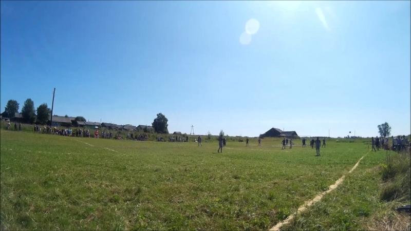 Футбол Нижняя Тойма - Авнюга 1-й период 2-я часть