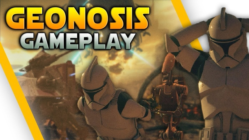 GEONOSIS GAMEPLAY TIPS (AT-TE, STAP, BARC Speeder More) - Battlefront 2