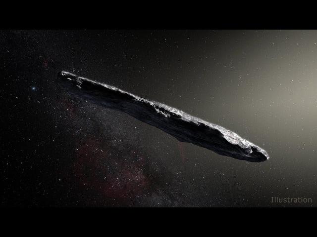 Первый межзвездный гость Солнечной системы