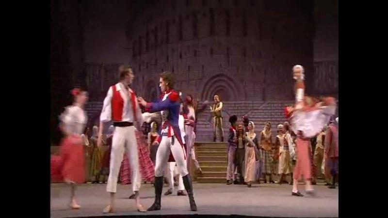 Балет Пламя Парижа 2 Жанна и Жером записываются в ряды революционеров
