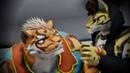 【獣人MMD】虎爺と雲豹でロキ1080p 60fps【家有大猫】