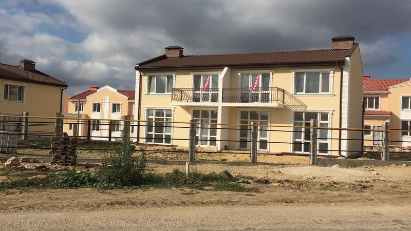Новый коттеджный поселок в ленинском районе Севастополя