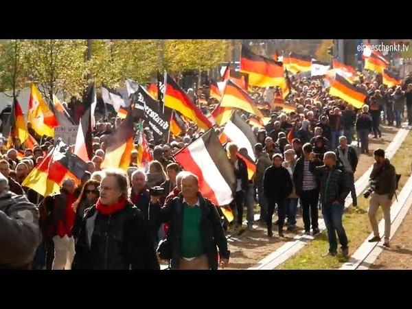 Wir für Deutschland-Großdemo Berlin 03.10.18 Deutsche müssen stolz sein, dass sie deutsch sind!