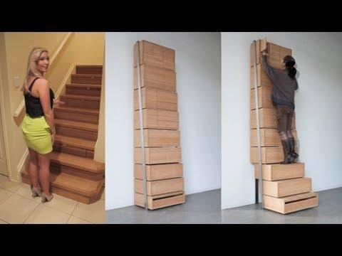 Mind Blowing Hidden Rooms and Secret Furniture