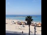 #Пляж в городе #тельавив #Израиль #средиземноеморе #midelterranian #Mittelmeer #telaviv #israel #jaffa #sea #beach #strand #tere