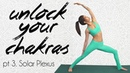Yoga for Confidence Motivation ♥ Solar Plexus Chakra, 25 Minute Yoga Class, Julia Jarvis