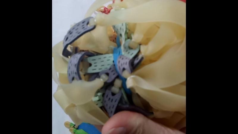 Flat rubber band slingshot rubber band