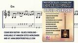 Cigar Box Guitar - Blues Overload - Rockin' Blues - 3 String Guitar - GDG