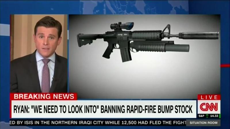 Rapid-fire bump stock