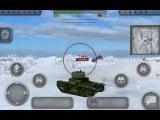 Играю в Wild Tanks Online на андроид!