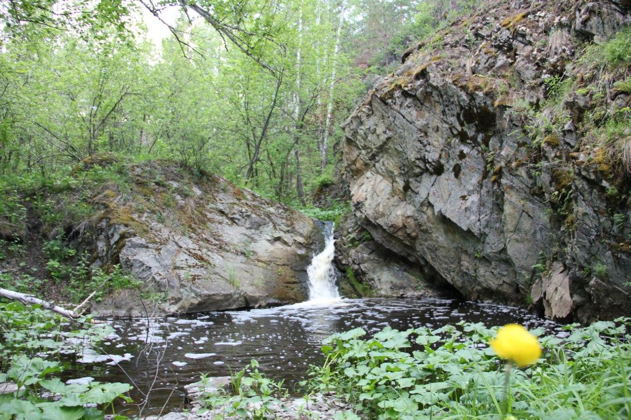 Ольгин водопад вовсей красе