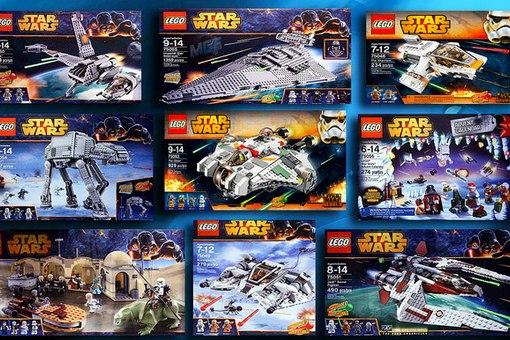 Конструкторы LEGO Star Wars - Детский Мир