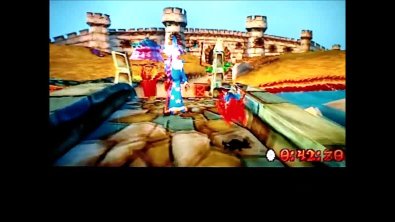 Crash Bandicoot 3 Warped NTSC J Time Trial Double Header 50 00 Почти готово