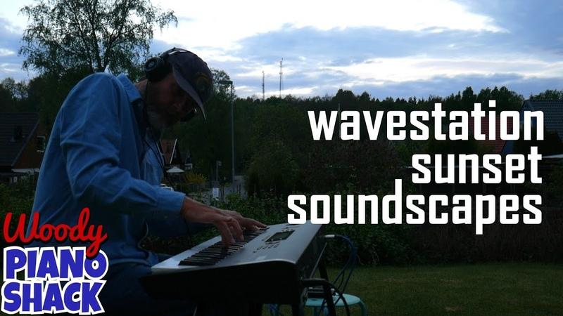 Korg WAVESTATION demo PT3 | Sunset soundscapes