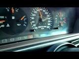 Mercedes W124 E60 AMG auf Deutsche Autobahn