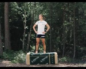 """Ingvild Flugstad Østberg on Instagram: """"Reklame. Bli med meg og min sponsor @huntonfiber ut i skogen for tips til ei solid og artig treningsøkt ???..."""