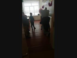 15.01.19 Мишка Тедди идёт поздравлять Виолетку с 7-ми летием!!! 👏👏👏