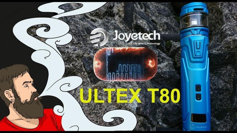 Vape обзор №243. Joyetech ULTEX T80 CUBIS Max. Интересный стартовый набор.