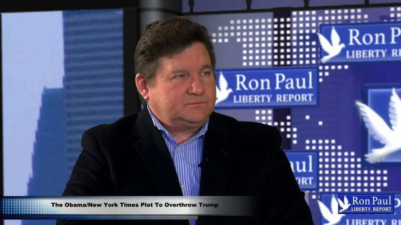 The Obama/New York Times Plot To Overthrow Trump
