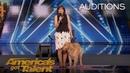Oscar Pam: Singing Dog Wins America's Heart - America's Got Talent 2018