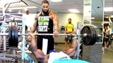 525 LB Bench Press - Kali Muscle + The Beast