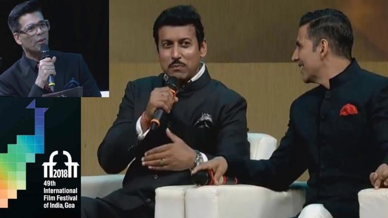 Акшай Кумар на церемонии открытия IFFI 2018