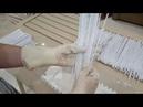 Эластичные бумажные трубочки (как шелк) - секреты покраски