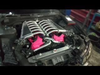 Запуск Nissan Silvia s15 с мотором v12 1gz-fe