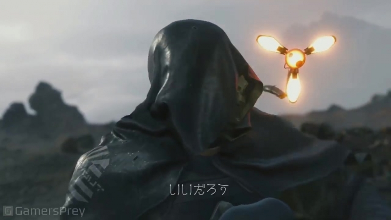 Death Stranding - TGS 2018 The Man in the Golden Mask Trailer