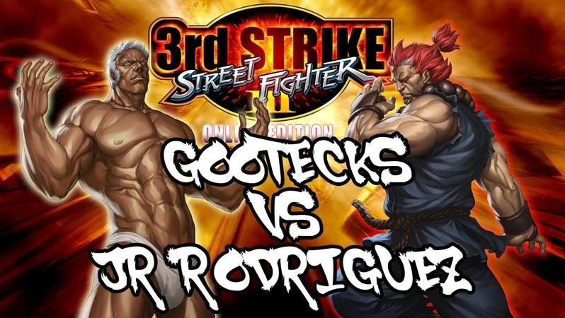 SFIII 3rd Strike Online Edition : Gootecks ( Urien ) VS JR RODRIGUEZ ( Akuma ) Ranked Matches