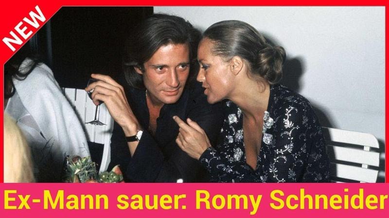 Ex-Mann sauer Romy Schneider in Film falsch dargestellt!