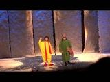 сНежное шоу Славы Полунина в детском музыкальном театре им Сац