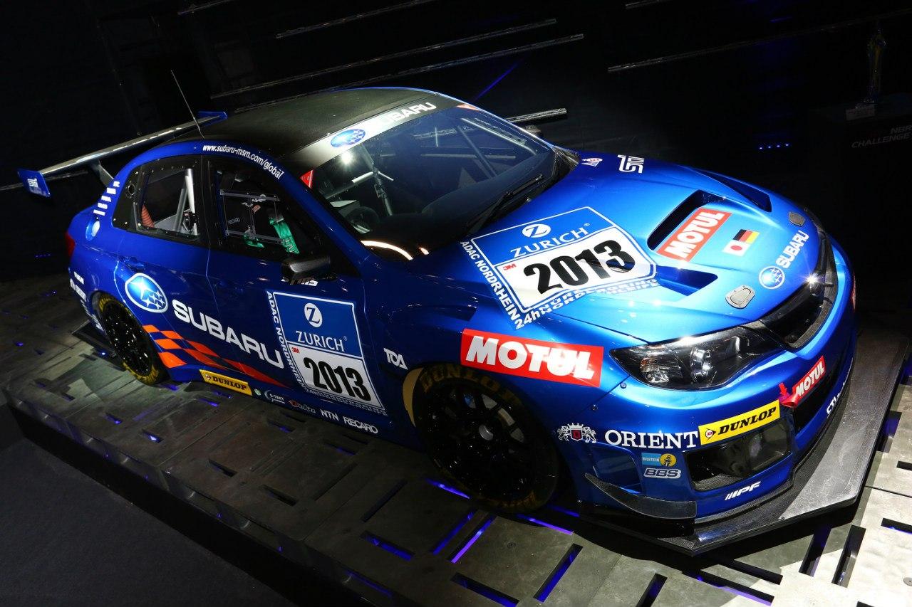 WRX STI 2013 Nurburgring